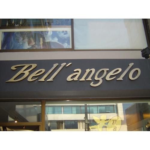 Ανάγλυφα γράμματα Bell Angelo